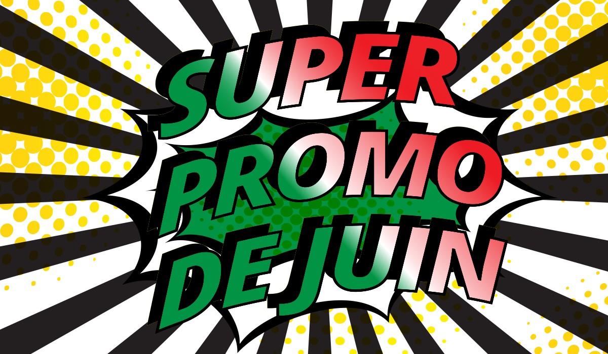 Promotion de Juin des produits Treomarket